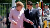 Меркель заявила, что чувствует себя хорошо после вчерашнего недомогания