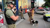 Ионицэ: Охрана магазина избила слепого мужчину из-за собаки поводыря