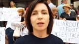ПДС, ППДП и ЛДПМ провели митинг у Национального банка Молдовы