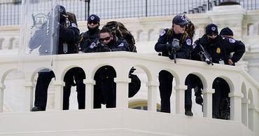 На Капитолии началась стрельба после захвата здания конгресса.