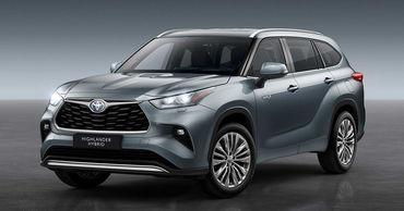 Toyota показала Highlander нового поколения.