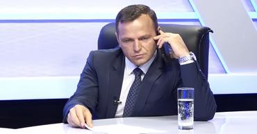 Андрей Нэстасе прервал передачу ради телефонного разговора передачу.