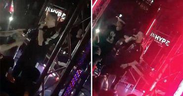 """На концерте рэпера Face в Лондоне заметили """"сына Порошенко""""."""