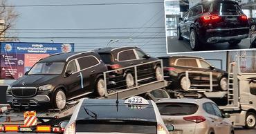 Люксовые внедорожники Maybach скоро начнут колесить по дорогам Молдовы . Коллаж: Point.md