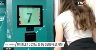В одном из городов Румынии билет на автобус стоит 20 приседаний.