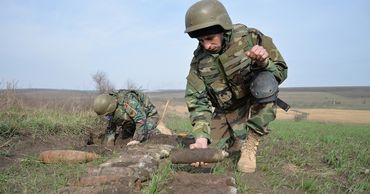 С начала года саперы выявили и уничтожили более 2000 взрывоопасных предметов в Молдове.