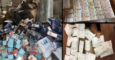 Столичная полиция обнаружила контрабандные товары на 3 000 000 леев.