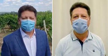 Гацкан выступил с новым видеообращением и снова в маске.