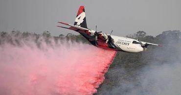 В Австралии при тушении пожаров разбился самолет из Канады.