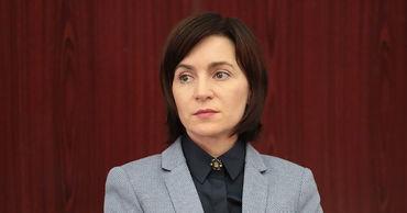 Майя Санду отправилась в Киев на машине.