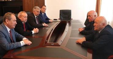 Главы парламентов Абхазии и Приднестровья провели встречу.