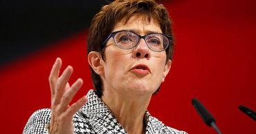 Глава Христианско-демократического союза (ХДС) Аннегрет Крамп-Карренбауэр.