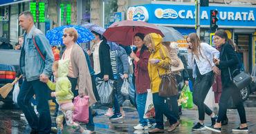 30 октября в Молдове будет облачно, на севере и в центре страны пройдут кратковременные дожди.