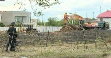 В Крикова жители возмущены строительством.