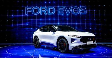 В Шанхае дебютировал Ford Evos
