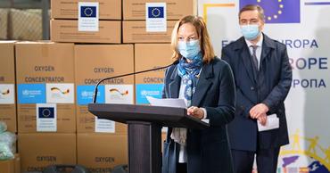 Германия передала Молдове 300 кислородных концентраторов на $250 тысяч