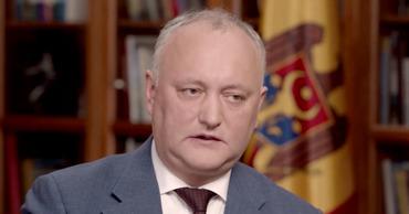 Додон: Молдова поддержала Китай в борьбе с коронавирусом