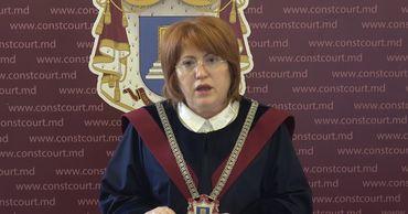 Председатель Конституционного суда Домника Маноле.