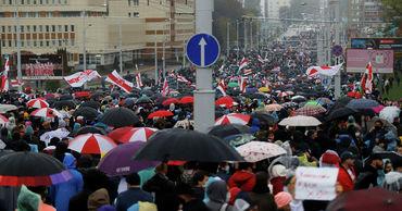 В Минске собираются сторонники оппозиции. Фото: ria.ru.