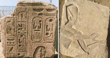Египетские археологи обнаружили артефакты эпохи Рамзеса II. Фото: Point.md.