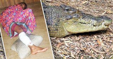 Полицейские начали поиск крокодила, опасаясь, что он нападет на кого-то еще. Фото: Point.md.