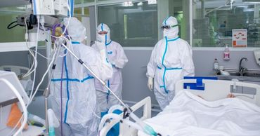 COVID-19: 366 пациентов находятся в тяжелом состоянии, 25 - на ИВЛ.