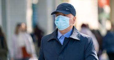 В Кишиневе введено обязательное ношение масок на улице.