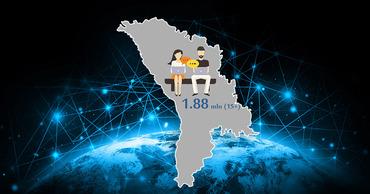 Почти 1,88 миллиона молдаван ежедневно пользуются интернетом.