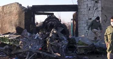 """Boeing 737-800 авиакомпании """"МАУ"""", вылетевший из Тегерана в Киев, был сбит иранской системой ПВО."""