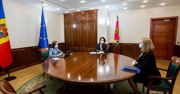 Санду обсудила с главой НОН проверки в отношении высокопоставленных чиновников.