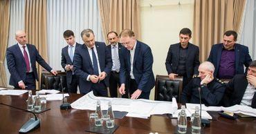"""В кабмине провели оценку выполнения работ по завершению """"Arena Chișinău""""."""