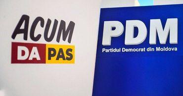 ПДС, ППДП и ДПМ могут подписать и одобрить в парламенте совместную декларацию. Фото: Point.md.