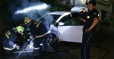 Ночью в Бельцах снова горели машины: подозреваемый в поджогах задержан.