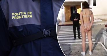 Пограничная полиция о раздевшейся стюардессе: Жалоба проверяется. Коллаж: Point.md