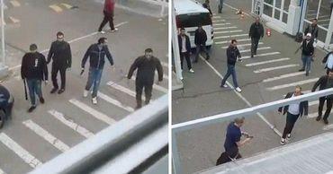 """Во вторник, 2 июня, в Одессе на рынке """"7 километр"""", произошла стрельба."""