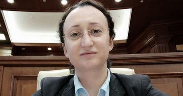 Депутат молдавского парламента Инга Григориу.