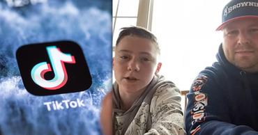 В США мальчик спас юного блогера от смерти во время прямого эфира в TikTok. Фото: Point.md.