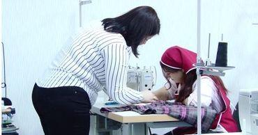 Жительница Липкан открыла первое в городе швейное ателье.