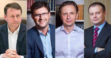 Канду, Кульминского, Мунтяну и Попова заметили вместе в аэропорту. Коллаж: Point.md