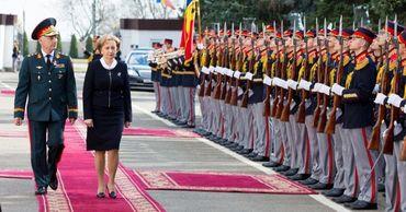 Гречаный поблагодарила военных за патриотизм, веру и преданность Отечеству.