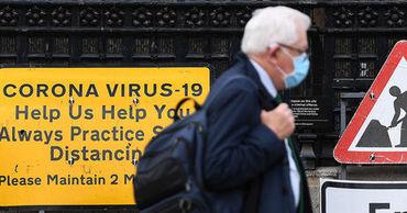 В Британии 1300 людям ошибочно сообщили, что у них коронавирус.