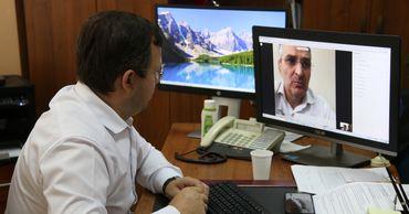 Госсекретарь минсельхоза обсудил с представителями ВБ новые проекты. Фото: madrm.gov.md.