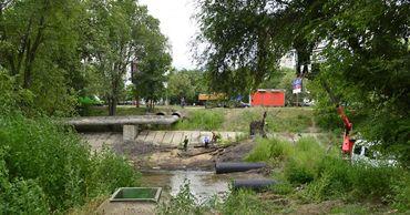 Часть русла реки Бык будет очищена.