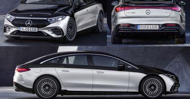 S-Class на батарейках: представлен электрический Mercedes-Benz EQS