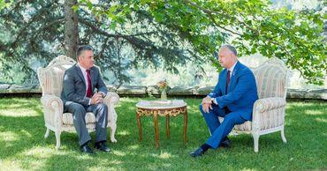 В Кондрице началась первая за 2020 год встреча Додона и Красносельского. Фото: facebook.com.