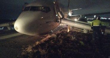 Появились подробности об аварийной посадке самолета в Одессе.