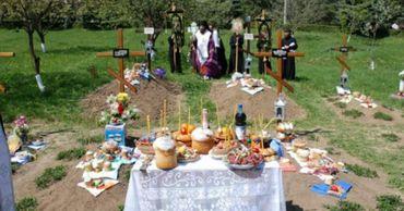Гражданам запретят посещение столичных кладбищ на Радоницу.