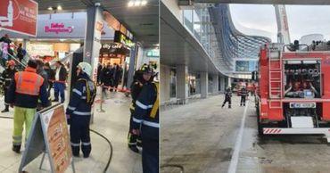 В аэропорту Бухареста произошел пожар.