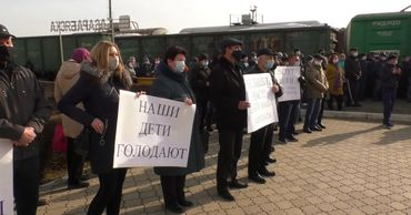 Железнодорожники Басарабяски грозят новыми протестами