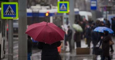Жителей Молдовы ожидает пасмурная и дождливая погода